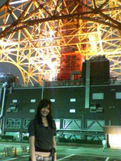 東京タワーだぁ!!
